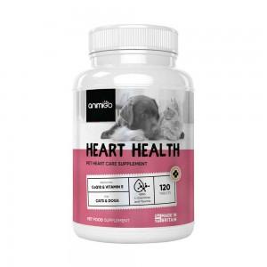 Corazón Saludable - Suplemento Cardiovascular Natural Para Gatos y Perros - 120 Cápsulas - Animigo