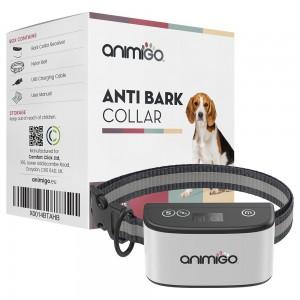 Collar Anti-Ladridos para Perros - Entrenamiento Canino Sin Descarga Eléctrica - Resistente a la Intemperie - Zumbido y Pitido - Animigo