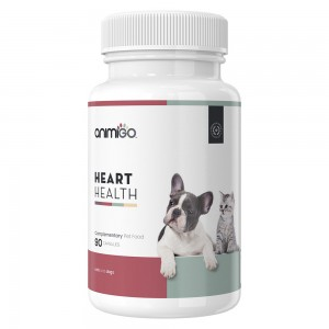 Corazón Saludable - Suplemento Cardiovascular Natural Para Gatos y Perros - 90 Cápsulas - Animigo