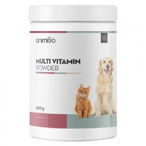 Polvo Multivitamínico - Suplemento de vitalidad multiusos para gatos y perros - Animigo